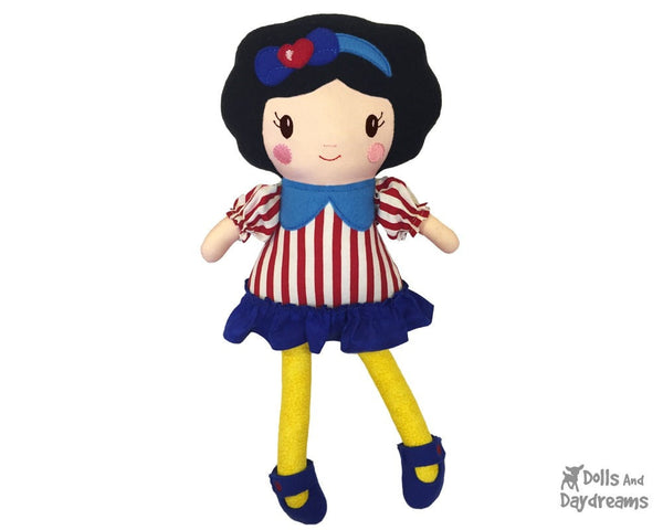 ITH Snow White Doll Pattern