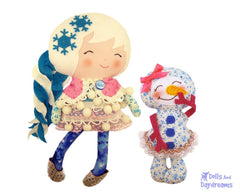 Winter Friends Sewing Pattern