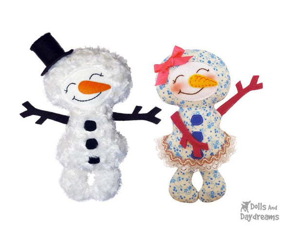 Winter Friends Sewing Pattern - Dolls And Daydreams - 5