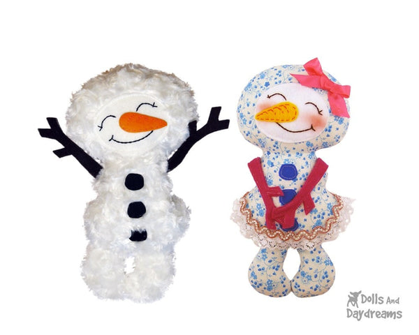 Winter Friends Sewing Pattern - Dolls And Daydreams - 3