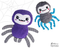 Spider Sewing Pattern by Dolls And Daydreams Easy Fun DIY kids toy