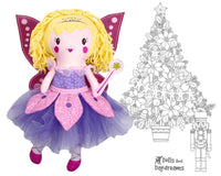 ITH Sugar Plum Fairy Machine Embroidery Pattern by Dolls And Daydreams