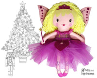 Sugar Plum Fairy Doll Sewing Pattern by Dolls And Daydreams