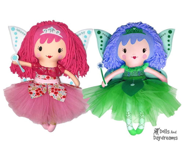 Sugar Plum Fairy Doll PDF Sewing Pattern by Dolls And Daydreams