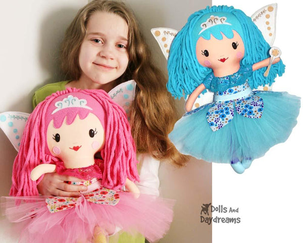 Fairy Cloth Doll Sewing Pattern by Dolls And Daydreams