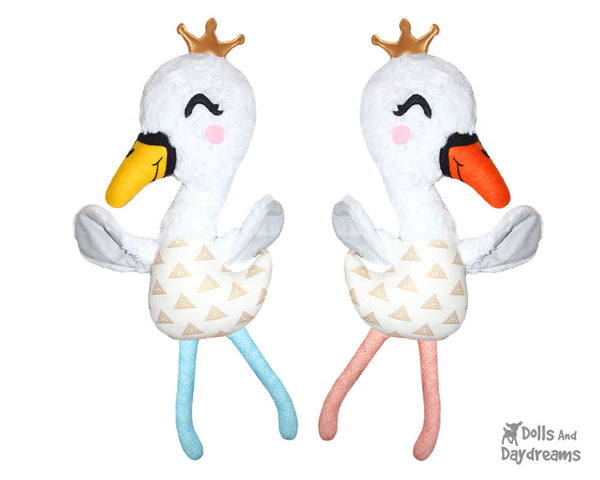 Swan Sewing Pattern