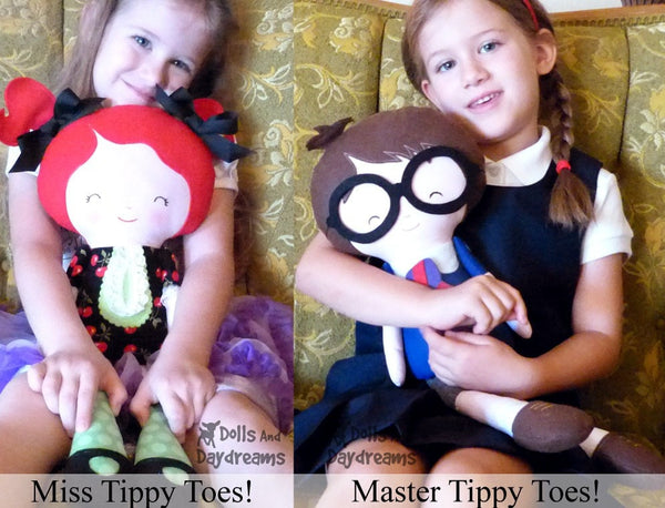 Master Tippy Toes Sewing Pattern - Dolls And Daydreams - 5
