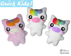 Quick Kids Unicorn Sewing Pattern
