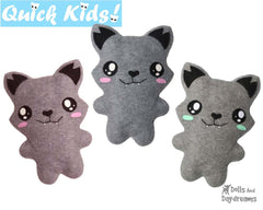 Quick Kids Wolf Sewing Pattern