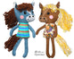 Yarn Horse Sewing Pattern