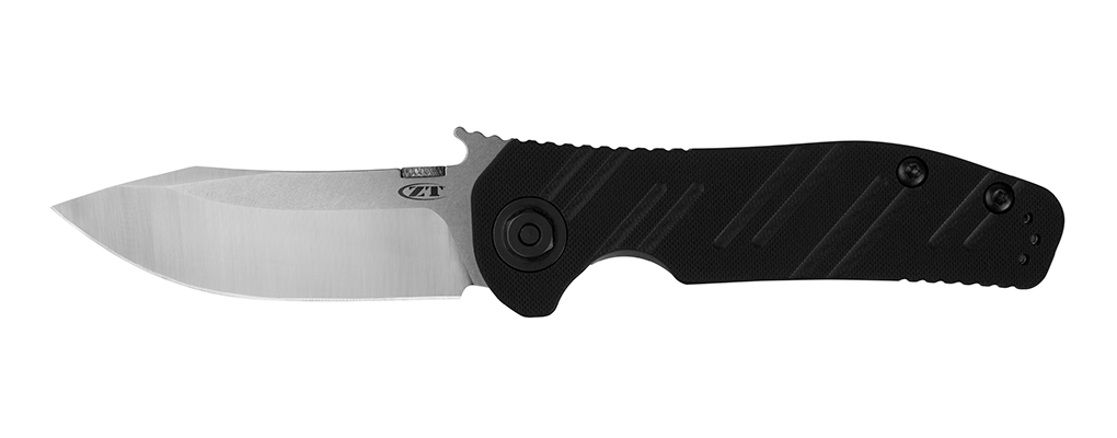 "Zero Tolerance 0630 Emerson Knife Black G-10 (3.6"" Satin) ZT - GearBarrel.com"