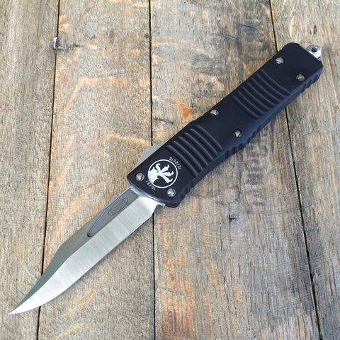 "Microtech Combat Troodon Bowie OTF Knife (3.8"" Satin) 146-4"