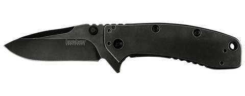 "Kershaw Cryo II Tanto Assisted Opening Knife (3.25"" BlackWash) 1556TBW"