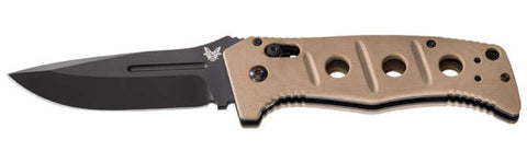 "Benchmade 2750 Adamas Automatic Knife Tan (3.82"" Black) 2750BKSN"
