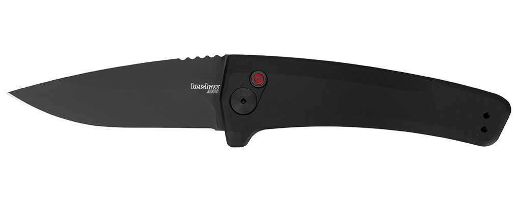 "Kershaw Launch 3 Automatic Knife Black (3.4"" Black) 7300BLK - GearBarrel.com"