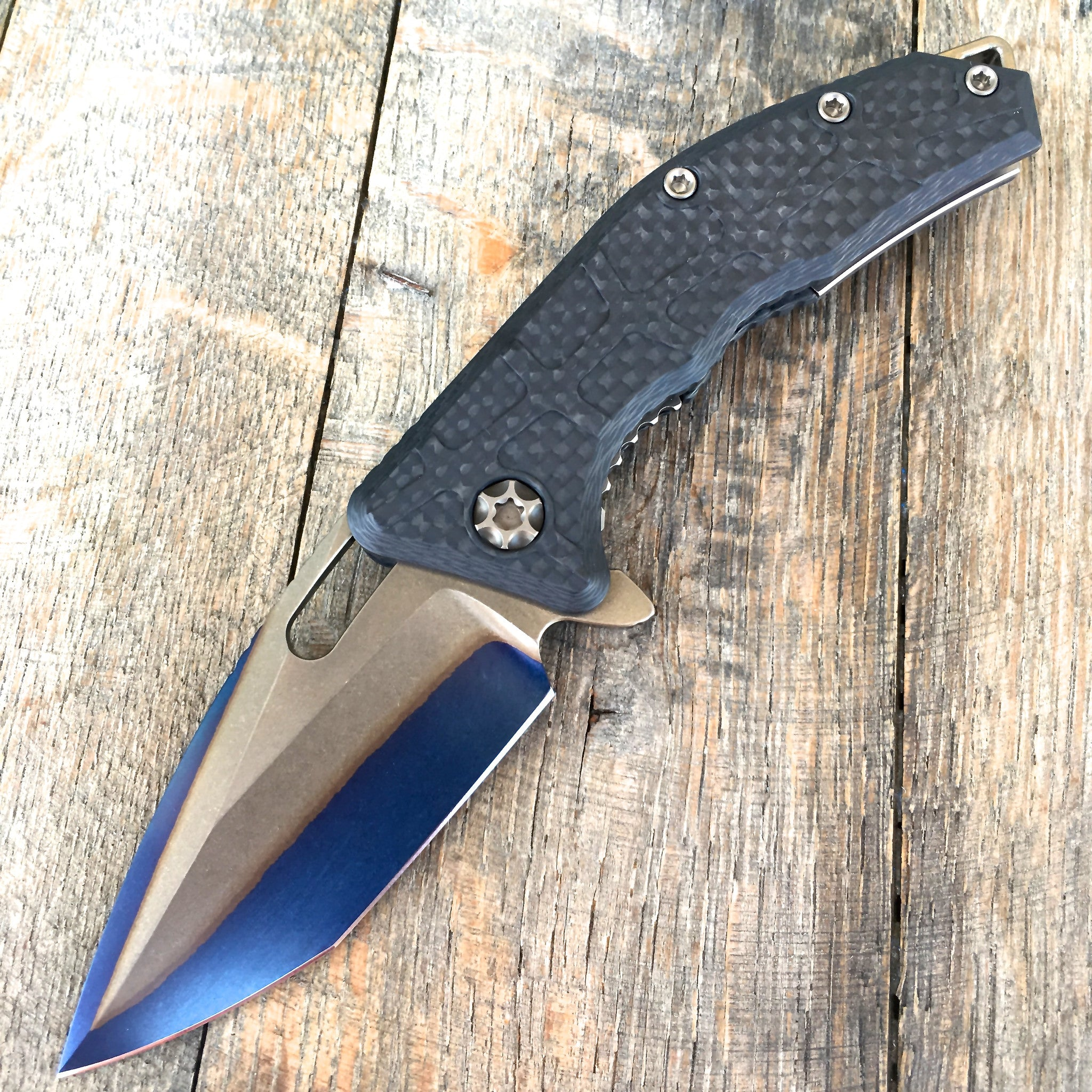 Martyr - Carbon Fiber and San Mia (Double Clad) H009-DCB S/N#004 - GearBarrel.com
