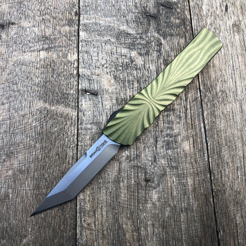"Brian Tighe & Friends Small Twist Tanto OD Green (2.75"" )"