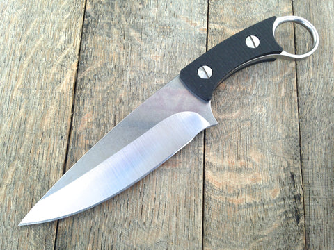 "Custom Strider XL KVA (Fixed Blade  8 3/8"")"