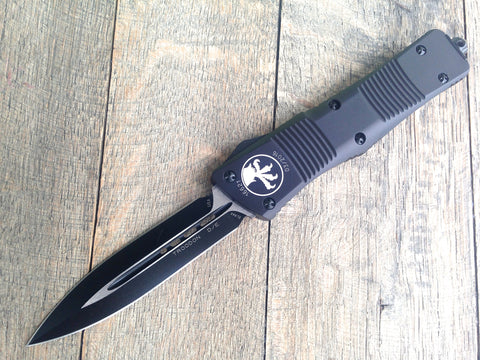 Microtech TROODON D/E Blk D/E 138-1T (Tactical Black)