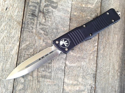 "2018 Microtech Combat Troodon OTF D/E Automatic (3.8"" Satin M390) 142-4"
