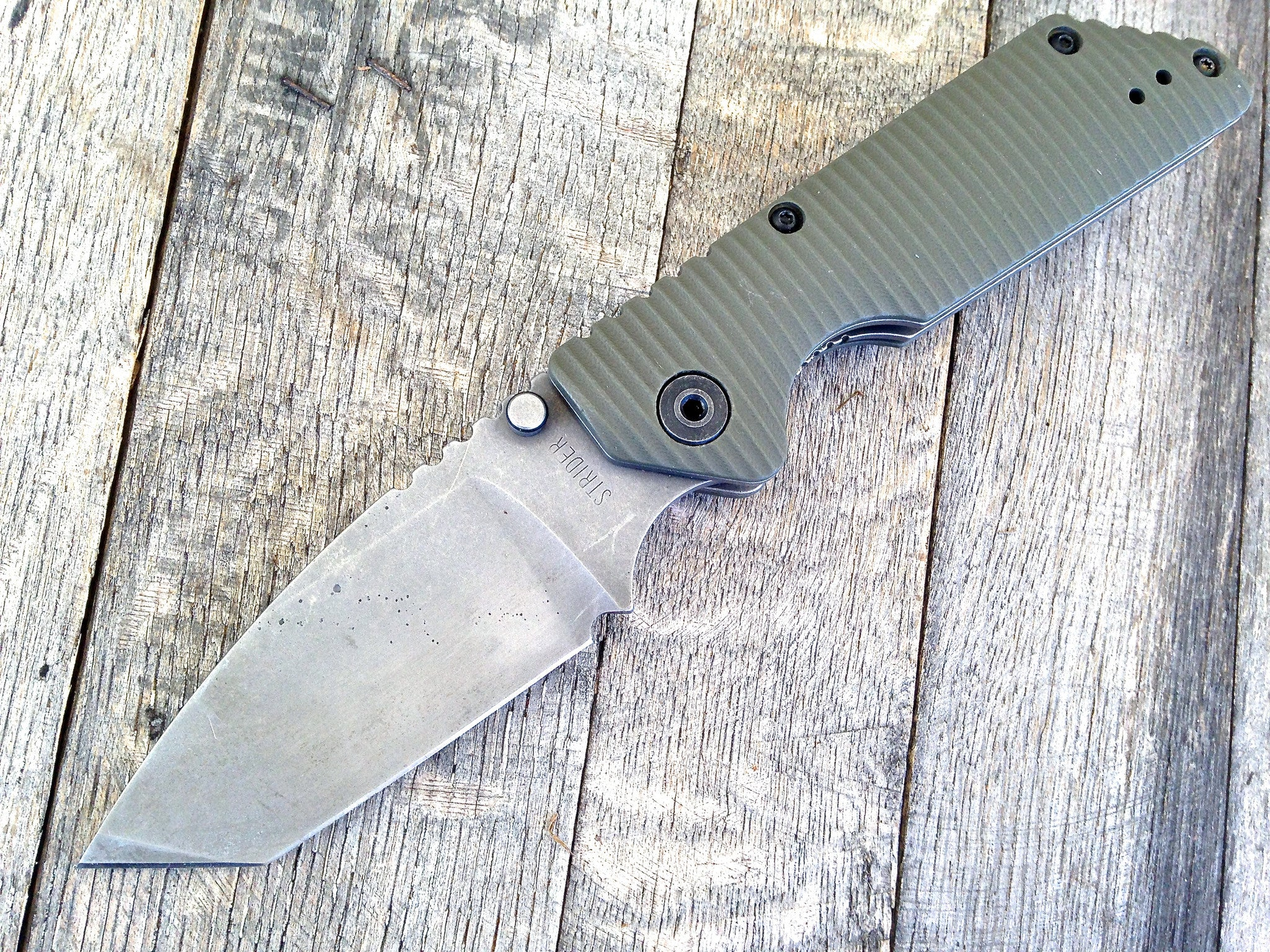 Strider GB - Acid Washed Blade - GearBarrel.com
