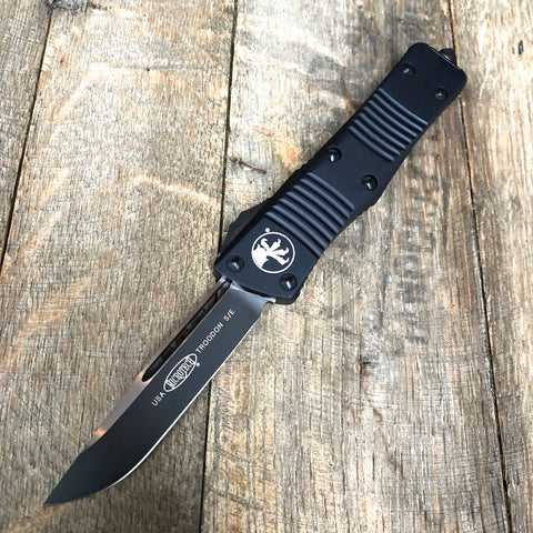 Microtech Troodon OTF S/E Auto  (Black Two-Tone) 139-1T