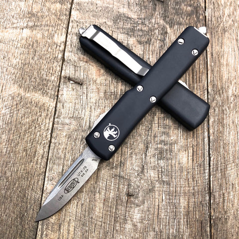 "Microtech CA Legal UTX-70 S/E OTF (1.9"" Stonewashed) 148-10CA"