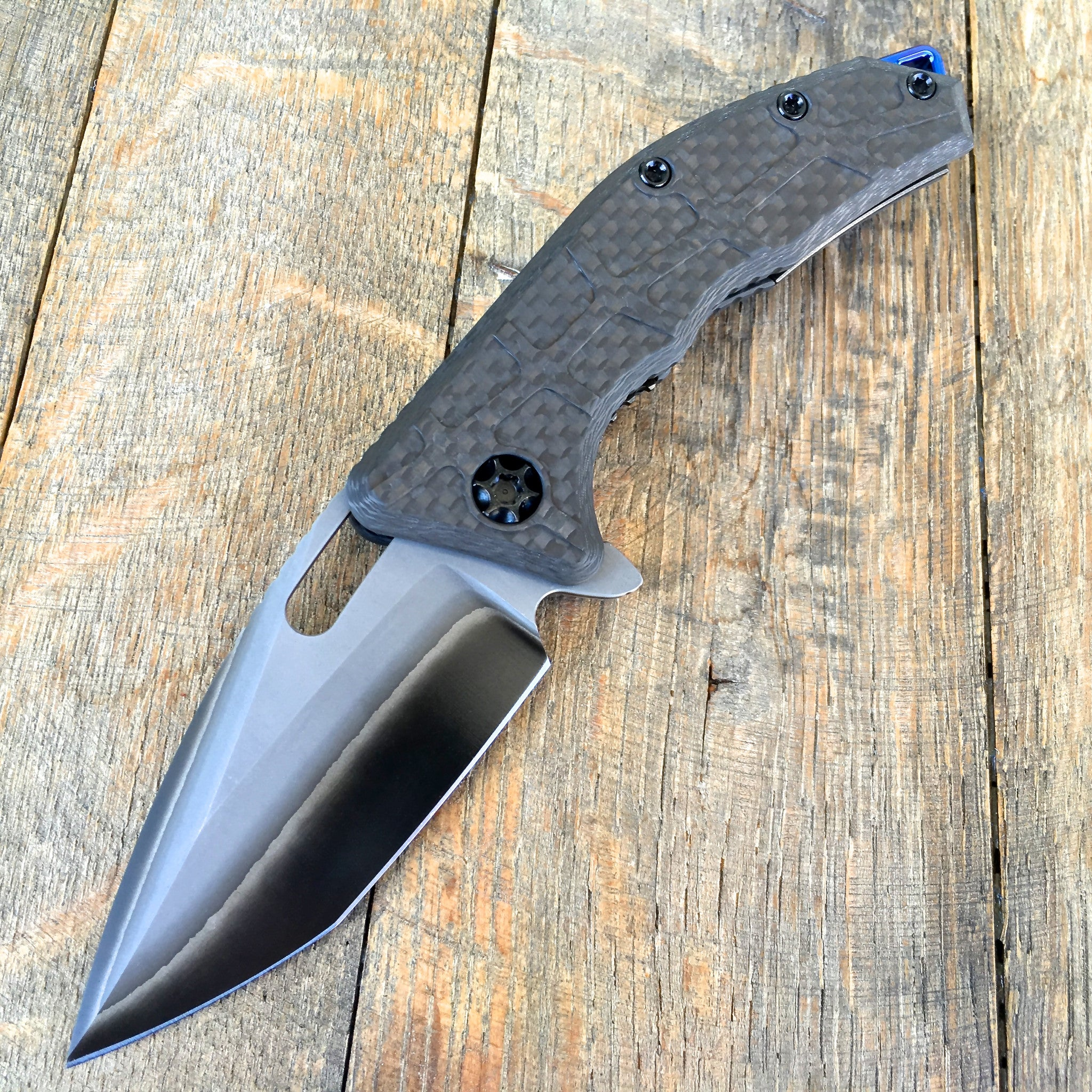 Martyr - Carbon Fiber and San Mia (Double Clad) H009-DC S/N#003 - GearBarrel.com