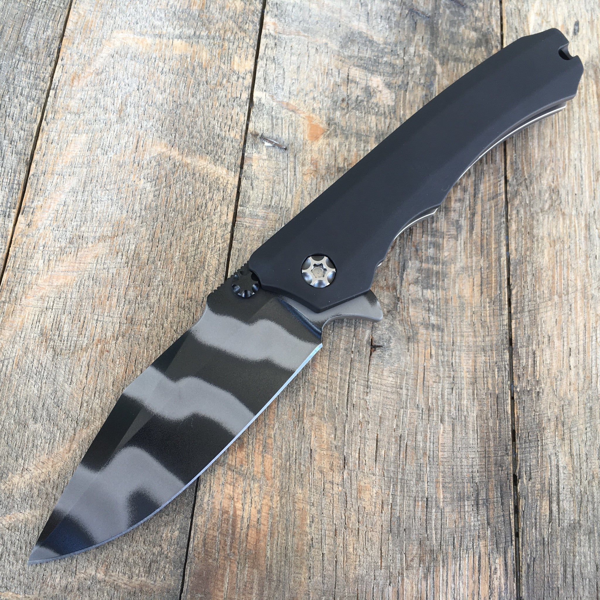 Heretic Knives Wraith Commando Striped  Black H001-4A-CT