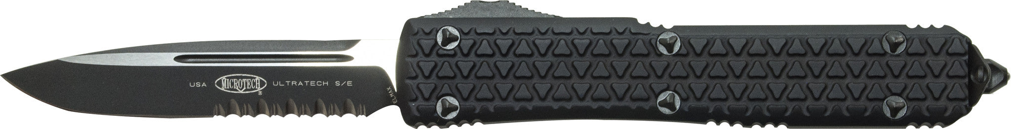 Microtech Ultratech S/E OTF  Tri-Grip  121-2T (Part Serrated)