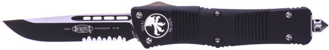 "Microtech Troodon OTF Automatic (3"" Black Serr) 139-2"