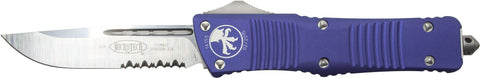 "Microtech Combat Troodon S/E OTF Automatic Purple (3.8"" Satin) 143-5PU"