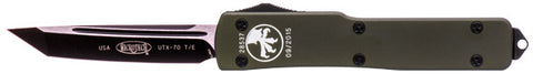 "Microtech UTX-70 Tanto Automatic (2.4"" OD Green) 149-1OD"