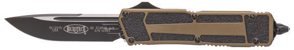 Microtech QD Scarab S/E  Automatic Tactical  (Tan) 178-1TA - GearBarrel.com