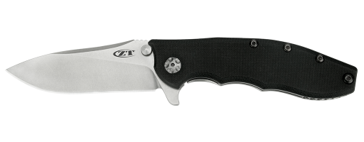 "Zero Tolerance 0562 Hinderer Slicer Knife Black G-10 (3.5"" Stonewash) ZT - GearBarrel.com"
