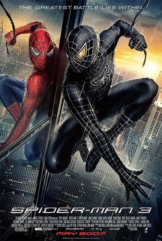Marvel Spider-Man 3 - Manifesto Film