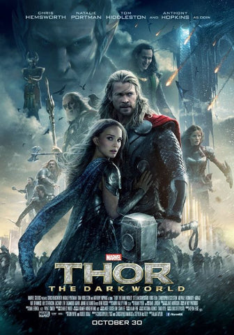 Marvel Thor The Dark World - Manifesto Film