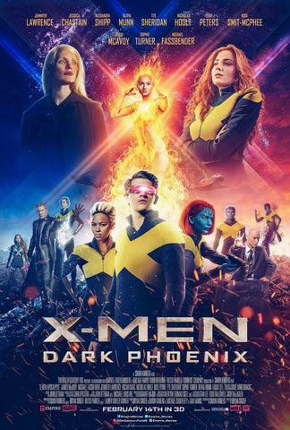Marvel X-Men Dark Phoenix - Manifesto Film