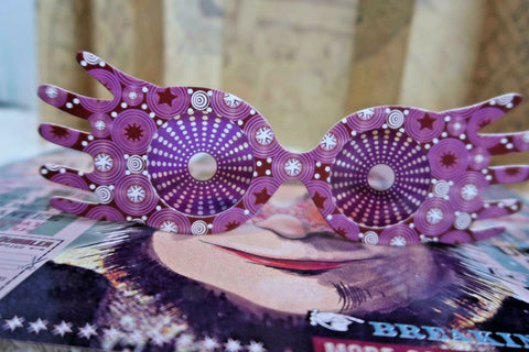 Harry Potter - Luna Lovegood pink Spectre Specs Glasses