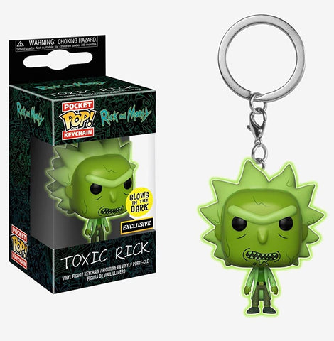 Rick and Morty - Toxic Rick figura intera