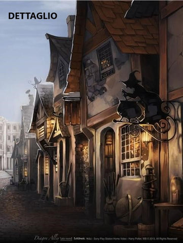 Harry Potter - Fondale Diagon Alley (lato nord)