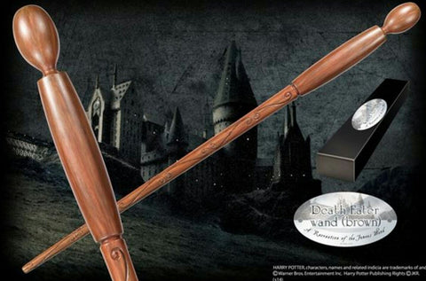 Harry Potter - Bacchetta Death Eater (Brown)