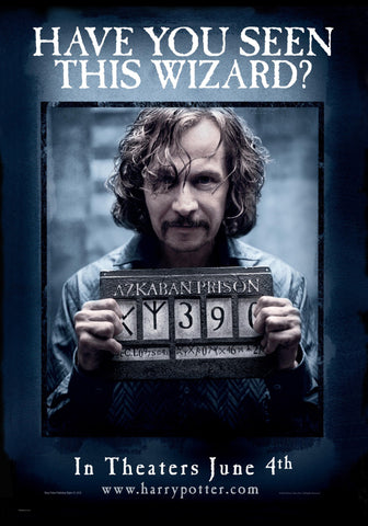 Harry Potter - Locandina Sirius Black