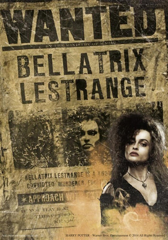 Harry Potter - Locandina Bellatrix Lestrange