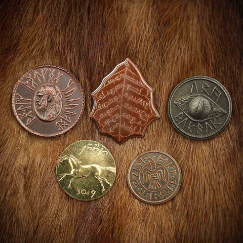 Il Signore degli Anelli - Set #1 - Middle-earth Set of Five Coins
