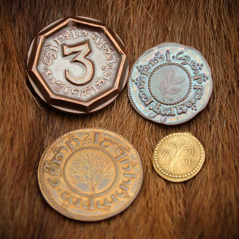 Lo Hobbit - Set #1 - The Shire™ Set of Four Coins