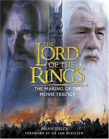 Il Signore degli Anelli - Libro The Making of the Movie Trilogy (inglese)