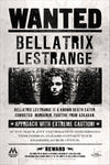 Harry Potter - Locandina Wanted Bellatrix Lestrange