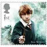 Harry Potter - Half sheet of 25 x 1st Class Stamps Hermione Granger