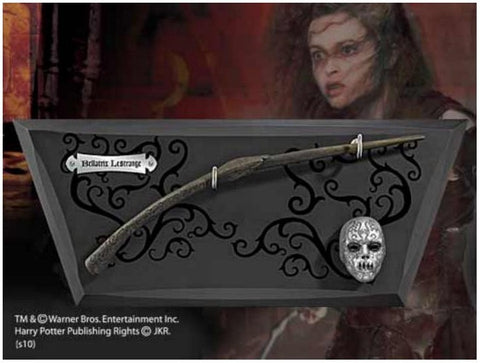 Harry Potter - Bacchetta Bellatrix Lestrange con espositore